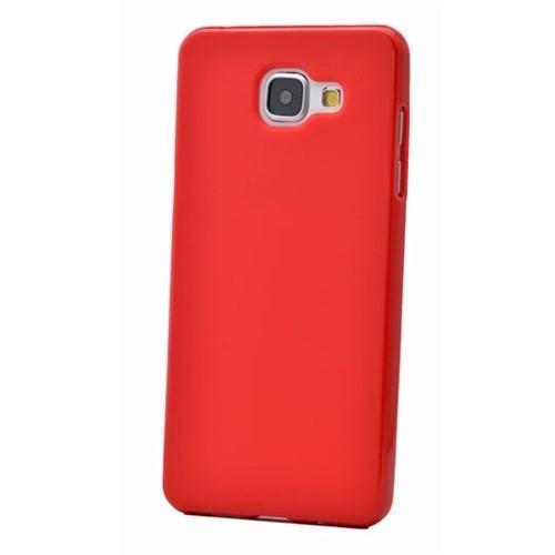 Cep Market Samsung Galaxy A3 Kılıf A310- 2016 Silikon Tpu - Kırmızı