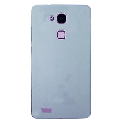 Case 4U Huawei Ascend Mate 7 Soft Silikon Kılıf Mavi