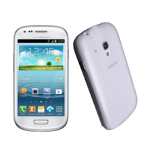 Case 4U Samsung i8190 Galaxy S III Mini 0,3 mm Ultra İnce Kılıf Şeffaf
