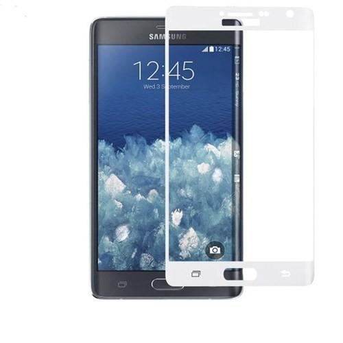 9H Samsung Galaxy Note Edge Ekran Koruyucu Beyaz