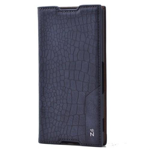 Teleplus Sony Xperia Z4 Flip Cover Kılıf Mavi