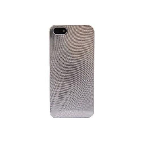 Duck Apple iPhone 5 Methalic Wooden Touch Business Class Gri Kapak