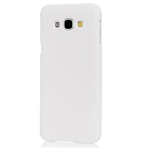 Microsonic Samsung Galaxy A8 Kılıf Premium Slim Beyaz