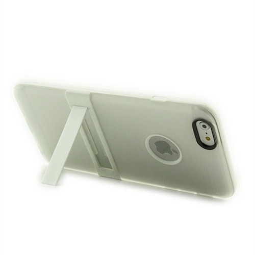Microsonic Standlı Soft İphone 6 Plus (5.5'') Kılıf Beyaz