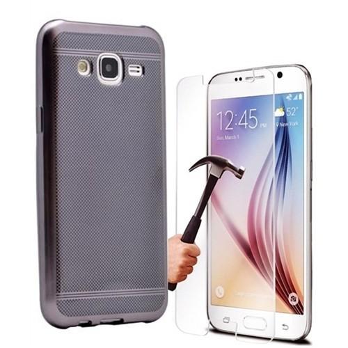 Kılıfshop Samsung Galaxy J5 Strom Silikon Kılıf (Siyah)