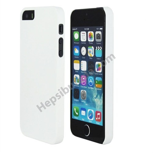 Fonemax Apple İphone 5 Sert Arka Kapak Beyaz