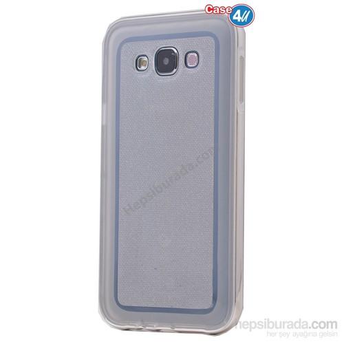 Case 4U Samsung Galaxy Grand Duos Çerçeveli Silikon Kılıf Şeffaf