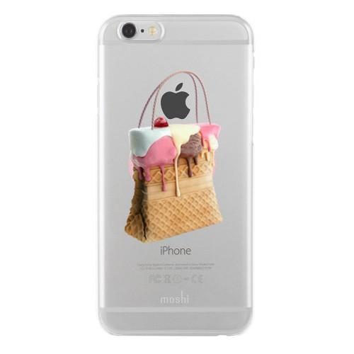 Remeto Samsung Galaxy Note 2 Transparan Silikon Resimli Dondurma Tasarımlı Çanta
