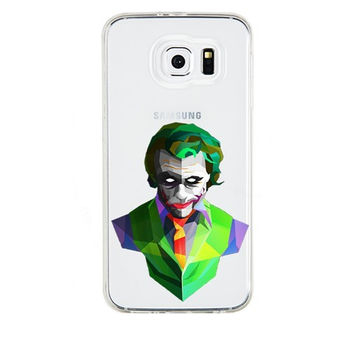 Remeto Samsung Galaxy Note 2 Transparan Silikon Resimli Joker