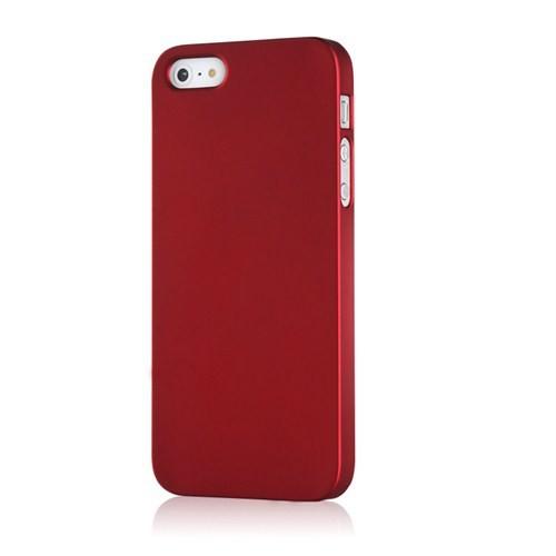 Microsonic Premium Slim İphone 5S Kılıf Kırmızı