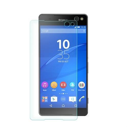 Cep Market Sony Xperia C5 Ultra Ekran Koruyucu - Tempered Glass