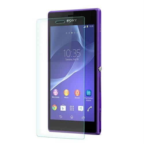 Cep Market Sony Xperia M2 Ekran Koruyucu - Tempered Glass