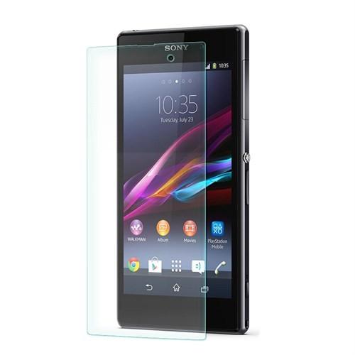 Cep Market Sony Xperia Z1 Ekran Koruyucu - Tempered Glass