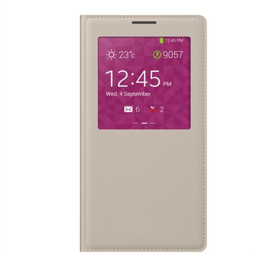 Markaawm Samsung Galaxy Alpha Kılıf S View Modlu Çipli