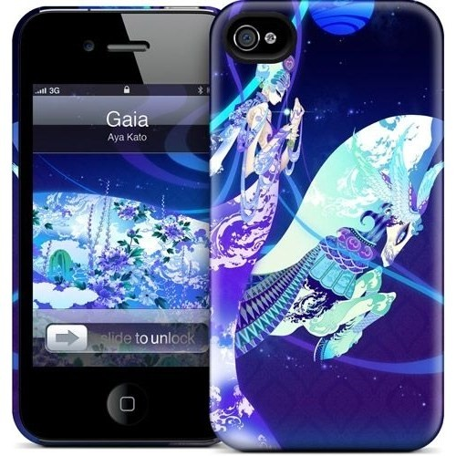 Gelaskins Apple iPhone 4 Hardcase Kılıf Gaia