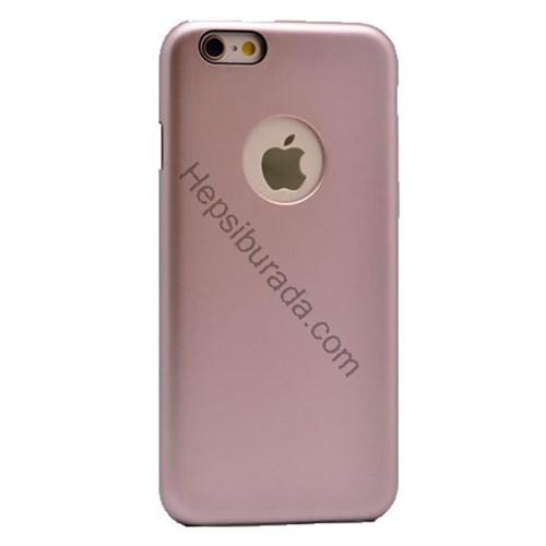 Case 4U Apple İphone 6S Arka Kapak (İçi Kadife) Rose Gold