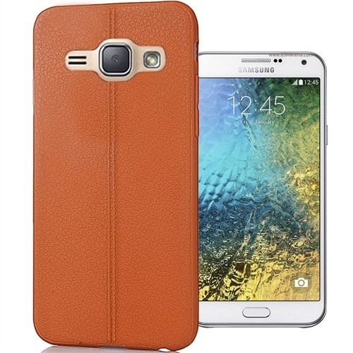 Coverzone Samsung Galaxy Prime Kılıf Deri Silikon