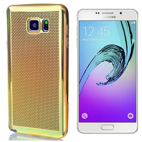 Coverzone Samsung Galaxy A5 Kılıf 2016 A510 Silikon Hasır Dizayn
