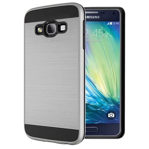 Microsonic Samsung Galaxy A7 Kılıf Slim Heavy Duty Gümüş