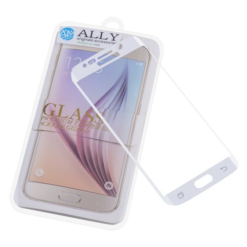 Ally Samsung Galaxy S6 Edge Curve Tam Govde Cam Ekran Koruyucu Şeffaf