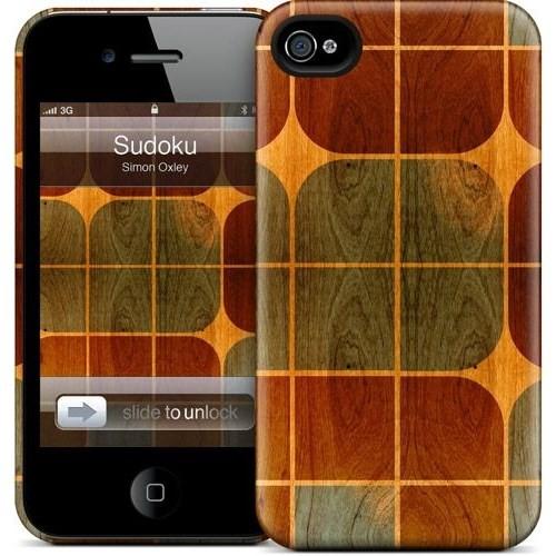 Gelaskins Apple iPhone 4 Hardcase Kılıf Sudoku