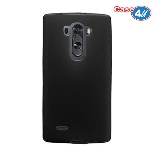 Case 4U Lg G Flex 2 Ultra İnce Silikon Kılıf Siyah