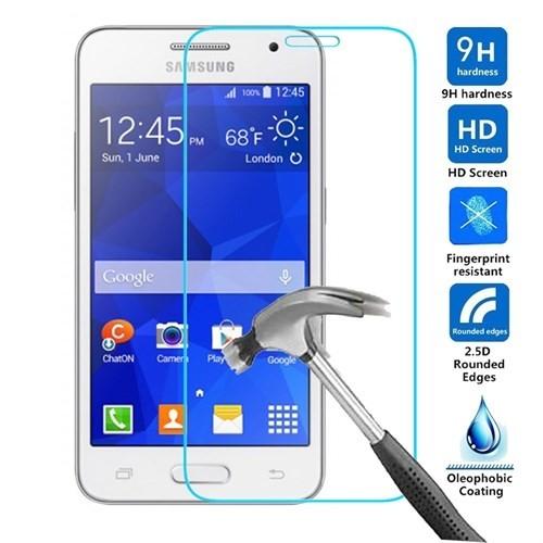 Case 4U Samsung Galaxy Core 2 Cam Ekran Koruyucu