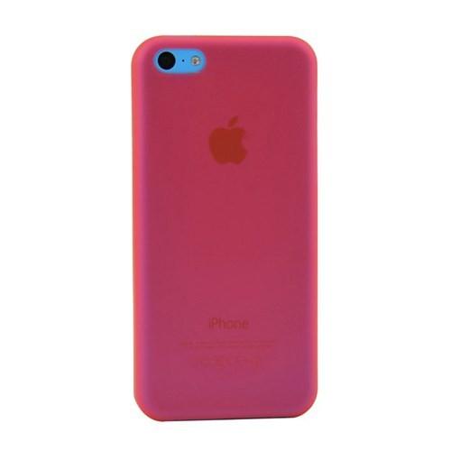 Duck Apple iPhone 5C Slikon Skiny Kapak Daily Kirmizi