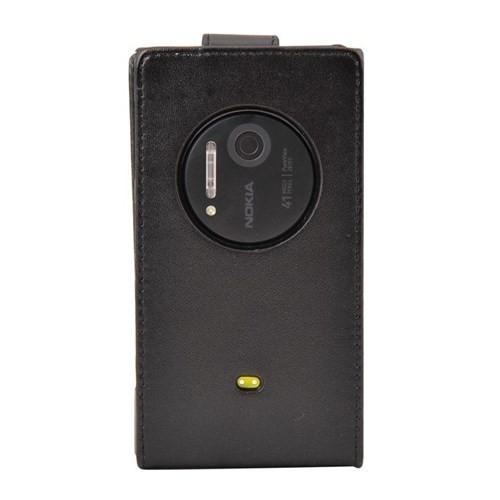 Vacca Nokia 1020 Dik Cüzdan Tip Kilif Black