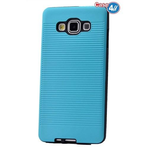 Case 4U Samsung Galaxy E7 You Korumalı Kapak Mavi