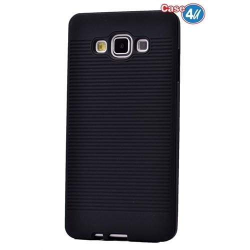 Case 4U Samsung Galaxy J5 You Korumalı Kapak Siyah