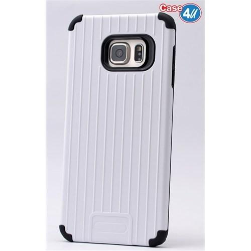 Case 4U Samsung Galaxy Note 5 Verse Korumalı Kapak Beyaz