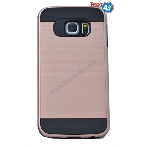 Case 4U Samsung Galaxy S6 Edge Plus Korumalı Kapak Rose Gold