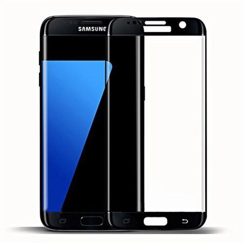 Bufalo Samsung S7 Edge Cam Ekran Koruyucu Siyah