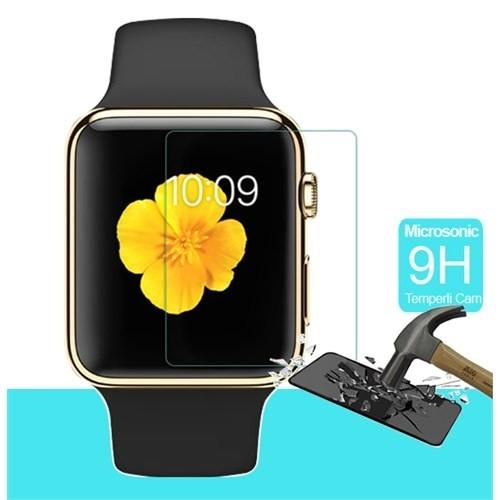 Microsonic Apple Watch 42Mm Temperli Cam Ekran Koruyucu Film