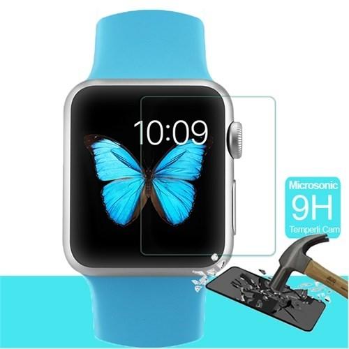 Microsonic Apple Watch 38Mm Temperli Cam Ekran Koruyucu Film