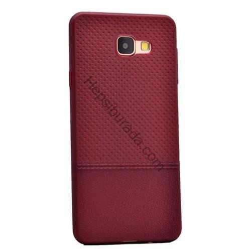 Fonemax Samsung A510 Galaxy A5 (2016) Matrix Desenli İnce Silikon Kılıf