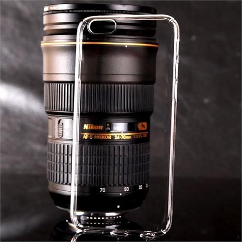 Coverzone İphone 5 5S Kılıf Kristal Kapak Kenarları Kapalı + Cam