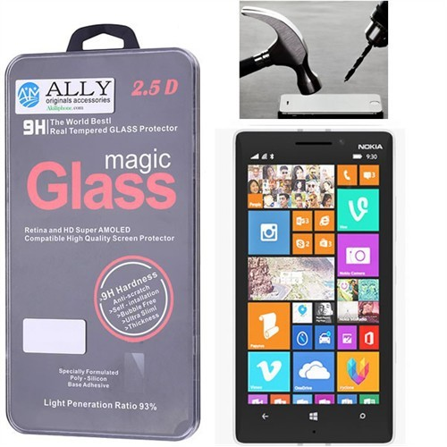 Ally Nokia Lumia 930 Glass Tempered Ekran Koruyucu