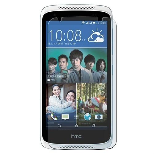 Case 4U HTC Desire 526 Dual Sim Ultra Şeffaf Ekran Koruyucu