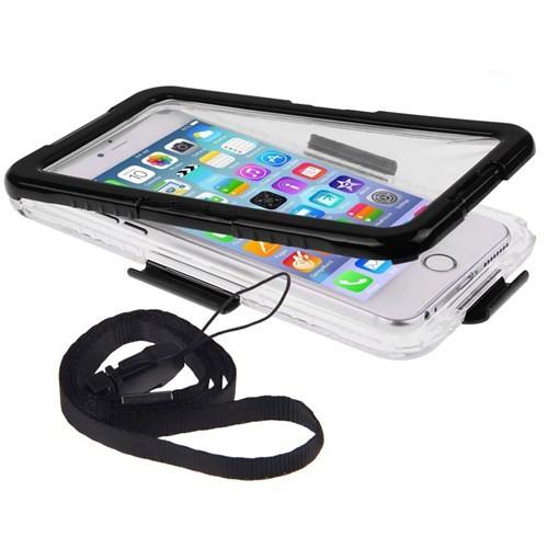 Case 4U Apple iPhone 6/6S Su Geçirmez Kılıf Siyah