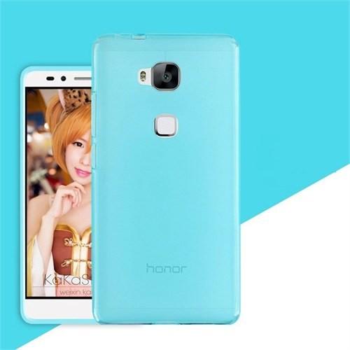 Teleplus Huawei Gr5 Silikon Kılıf Mavi