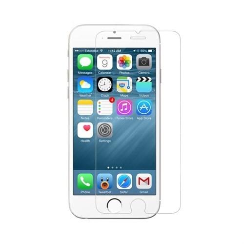 Teleplus İphone 6 Plastik Ve Cam Ekran Koruyucu Karışımı Cam Ekran Koruyucu