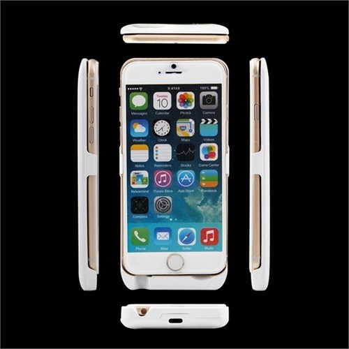 Teleplus İphone 6S Şarjlı Kılıf Beyaz