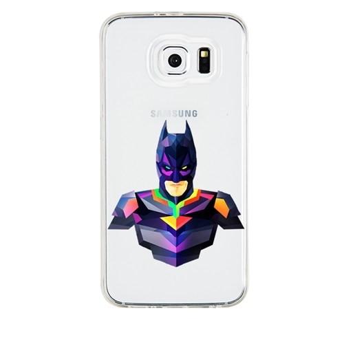 Remeto Samsung Galaxy S4 Transparan Silikon Resimli Batman