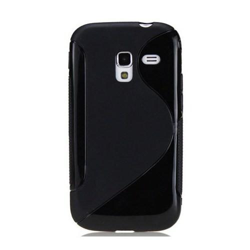 Coverzone Samsung Galaxy Ace 2 İ8160 Kılıf Silikon S-Line