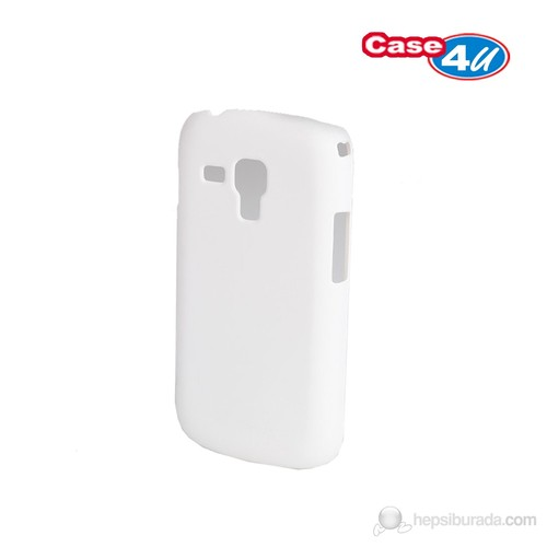 Case 4U Samsung Galaxy Trend S7560 Beyaz Kapak