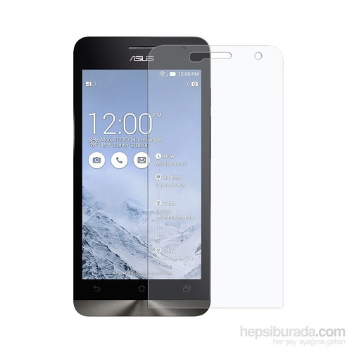 Case 4U Asus Zenfone 5 Ultra Şeffaf Ekran Koruyucu