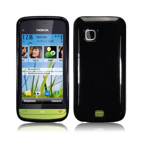 Case 4U Nokia C5-03 Tpu Siyah Kılıf