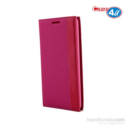 Case 4U LG G3 Gizli Mıknatıslı Pembe Kılıf